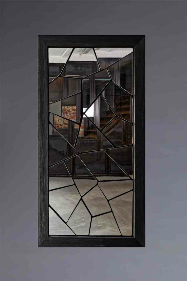 Miroir à multiples facettes indépendantes et orientables