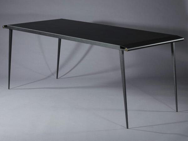 Table design, table pieds compas
